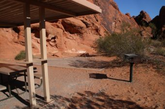 Atlatl Rock Campground Site #2