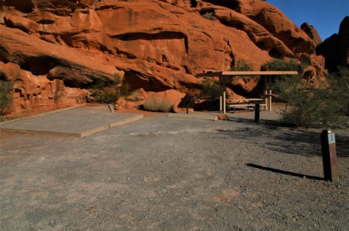 Atlatl Rock Campground Site #3
