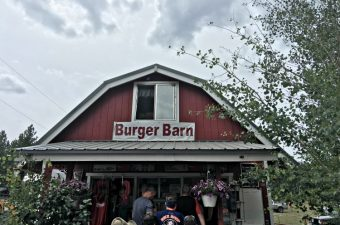 Burger Barn at Panguitch Lake Utah
