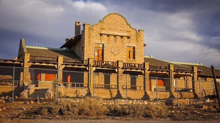 Rhyolite Ghost Town Building