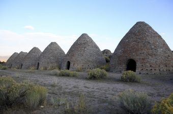 Ward Charcoal Ovens State Historic Park in Nevada