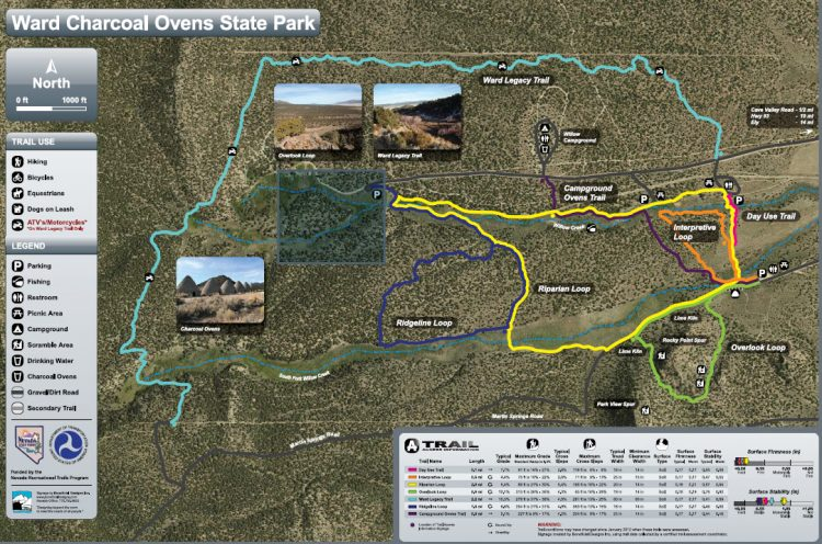 Ward Charcoal Ovens map