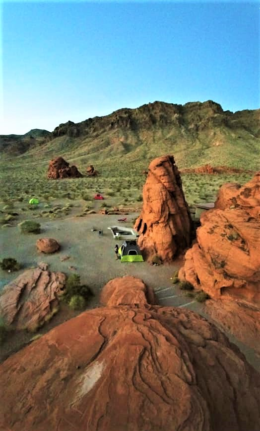 Valley Of Fire Group Campground Southwest Explorers