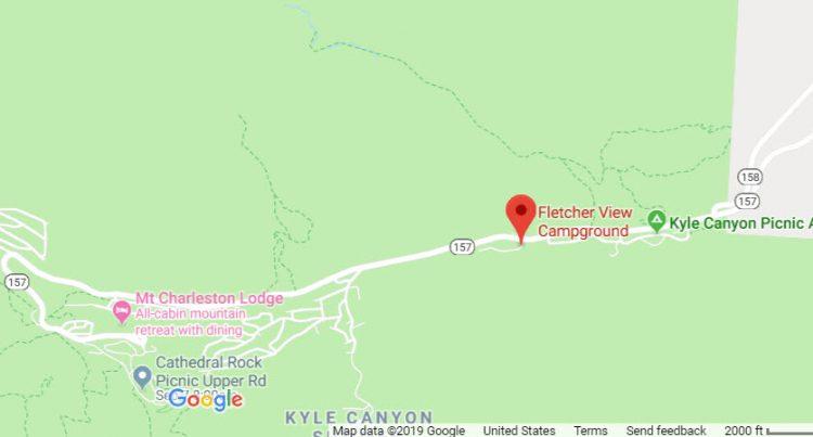 Fletcher View Campground Location