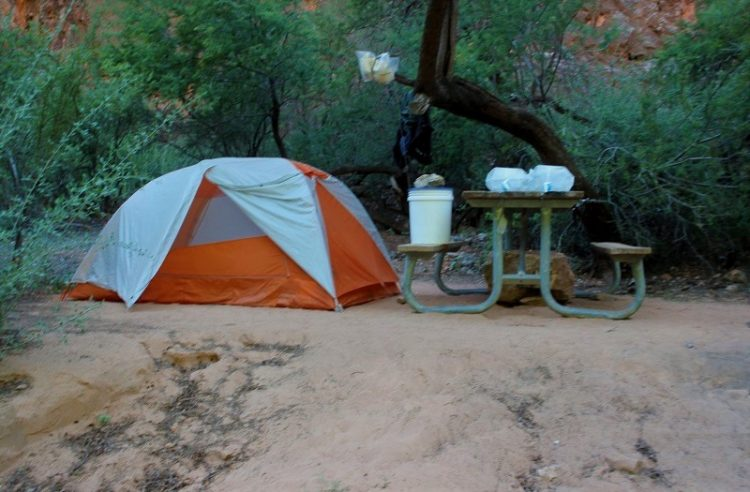 Camping at Havasupai