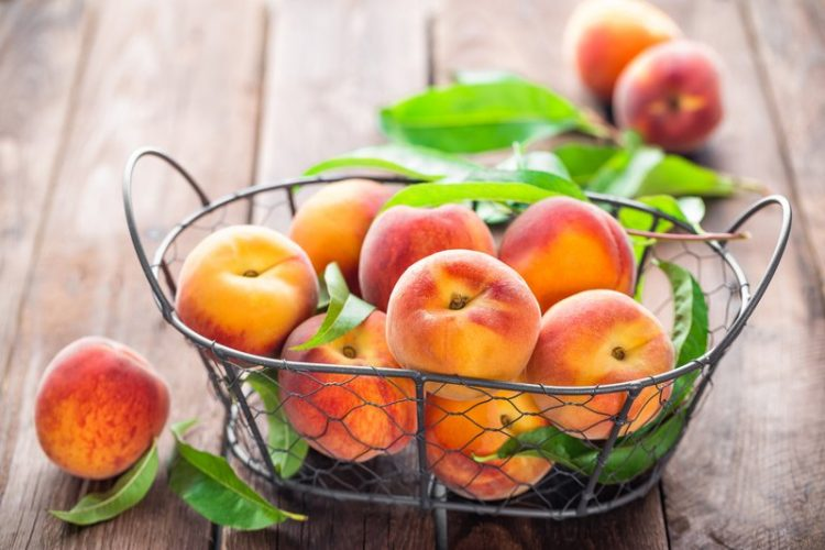 hyradting foods peaches