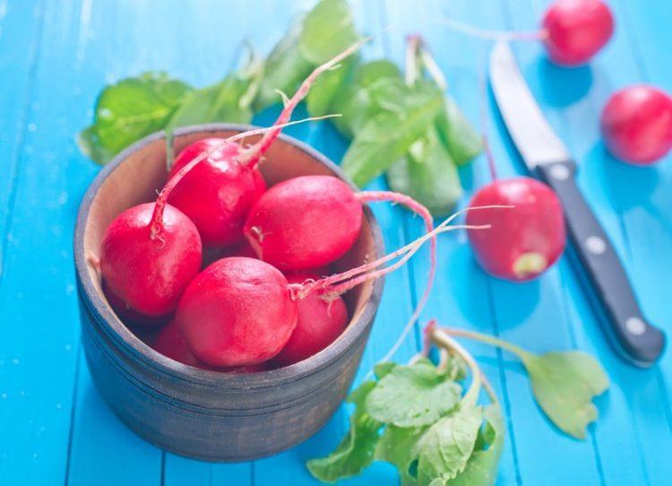 hydrating foods radishes