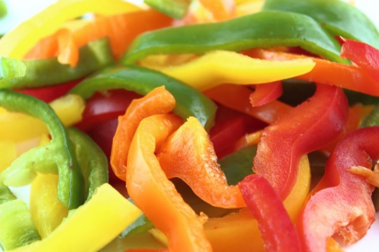 hydrating foods sweet peppers