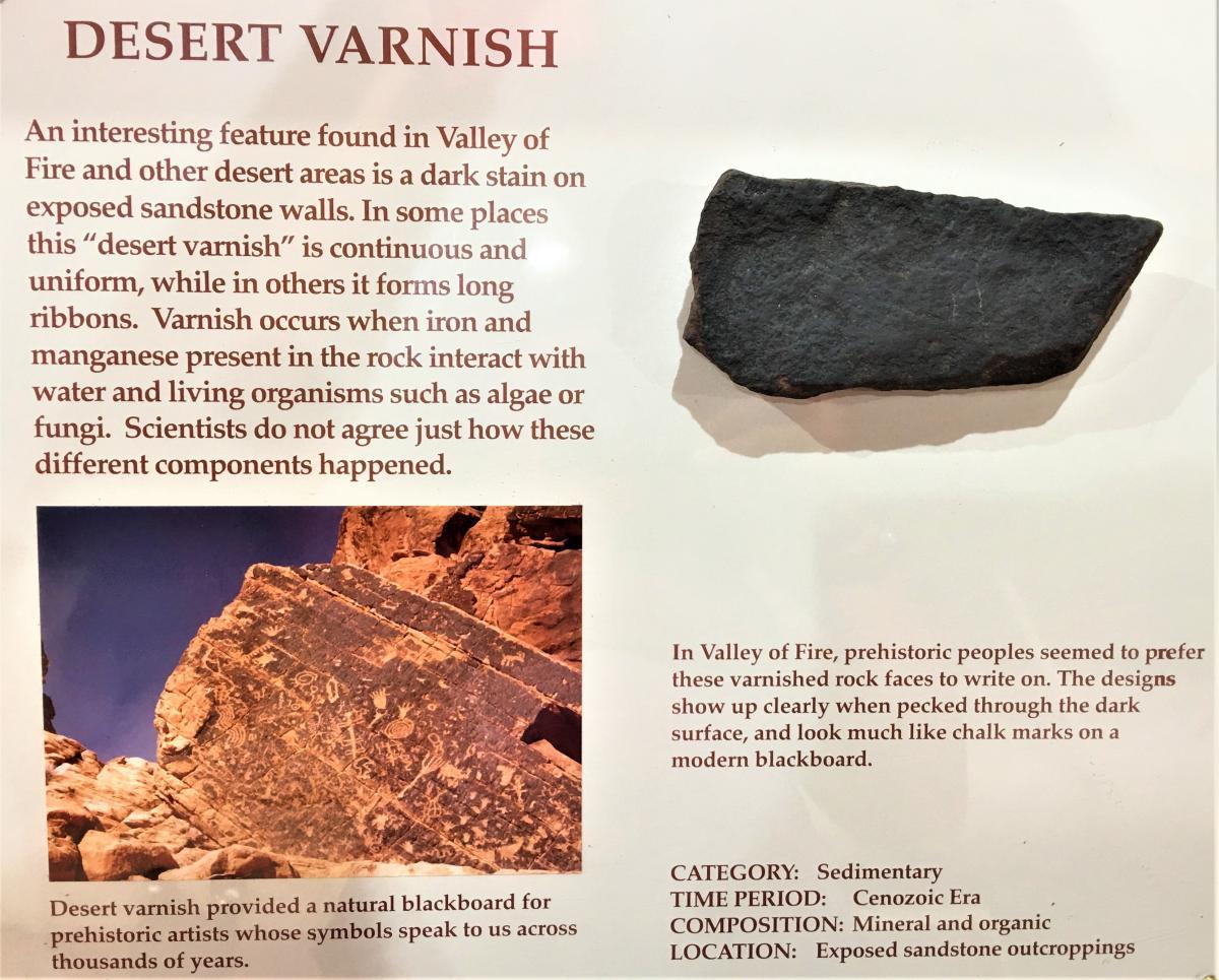 What is Desert Varnish